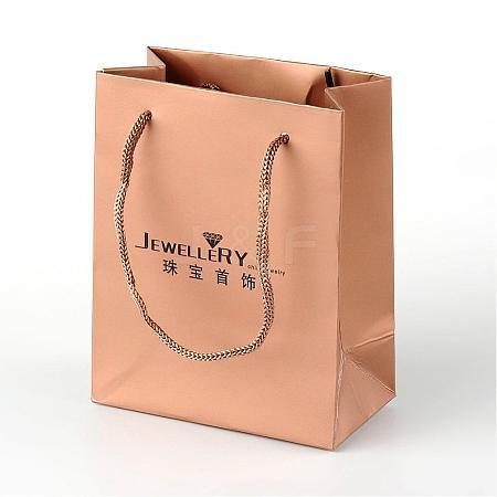 Rectangle Cardboard Paper Jewelry BagsAJEW-L057A-01-1